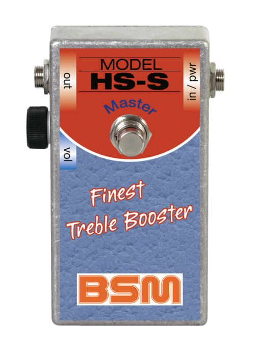 Booster Image: HS-S Master Treble Booster