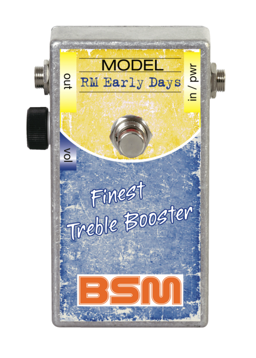 Booster Image: RM Early Days Treble-Booster